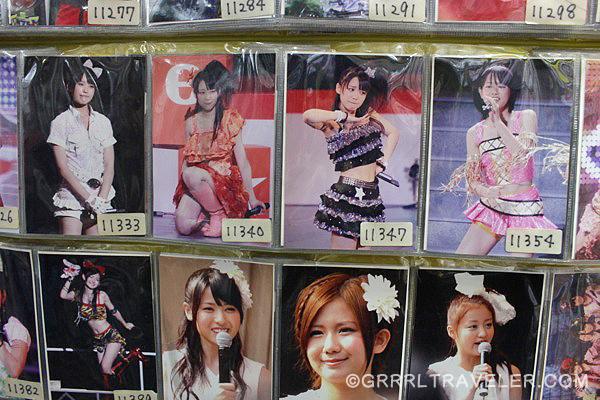 jrock cards, japan rock collectibles