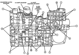 4r70w servo diagram
