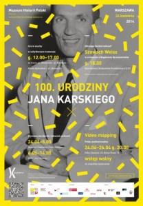 100 urodziny Jana Karskiego