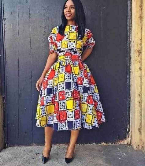 Latest Tswana Traditional Dress Designs 2017 Real Hair Cut