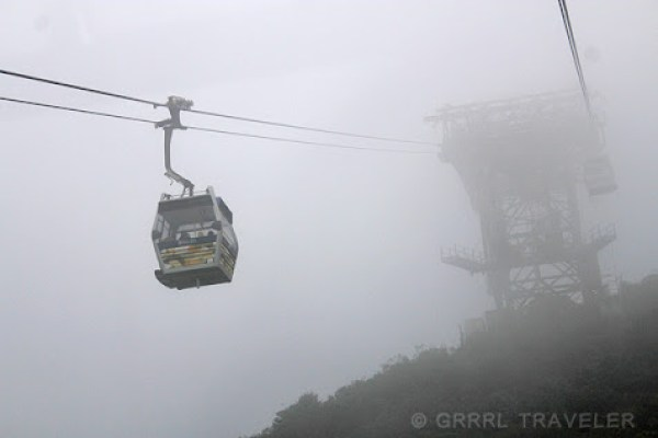 cable car Hong Kong, lantau island cable car ride, cable car heights, top attractions of hong kong, what to do in hong kong