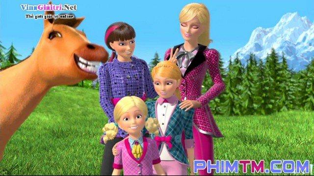 Xem Phim Barbie Và Chị Gái: Câu Chuyện Về Ngựa Pony - Barbie & Her Sisters In A Pony Tale - quevivacorky.com - Ảnh 3