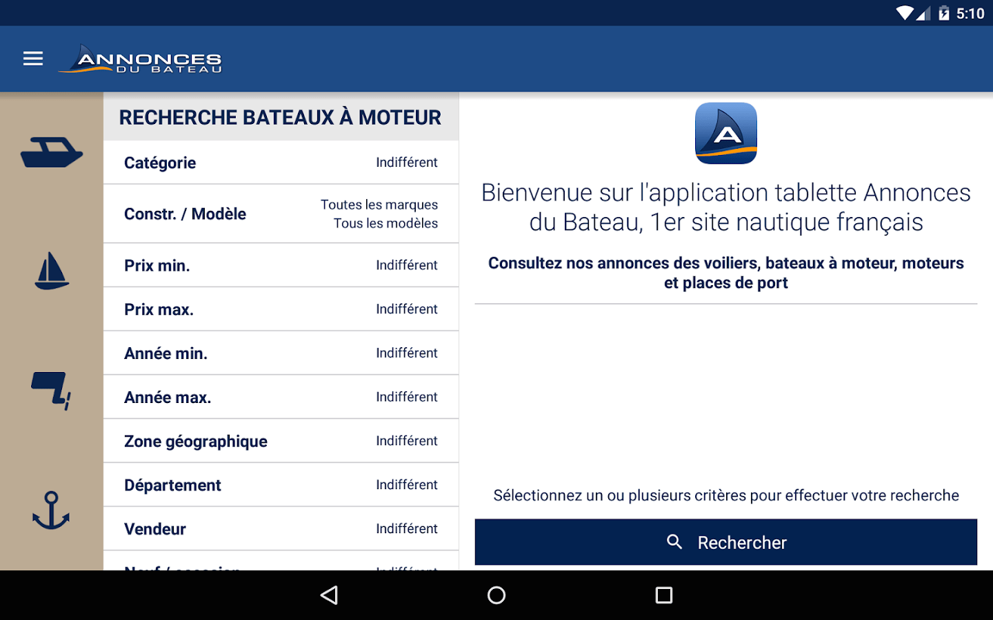 Application Vente Occasion Annonces Du Bateau Occasion Android Apps On Google Play