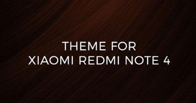 Theme For Xiaomi Redmi Note 4 - Android Apps on Google Play