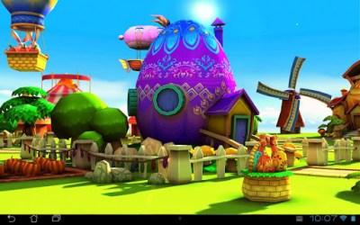 Easter 3D Live Wallpaper - la Pasqua arriva su Android! - XANTARMOB