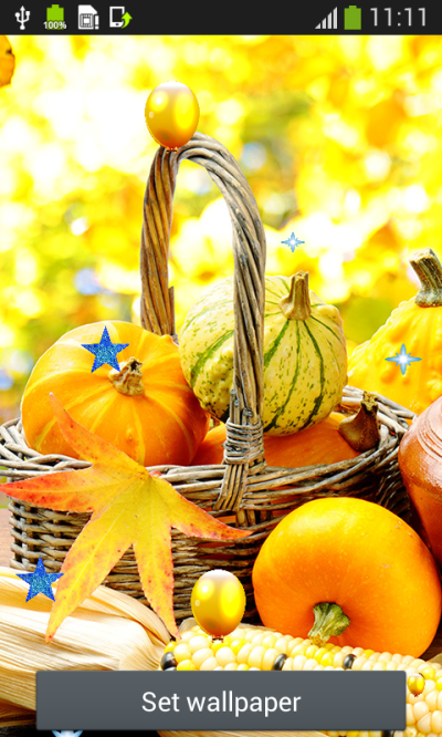Thanksgiving Live Wallpapers - Android Apps on Google Play