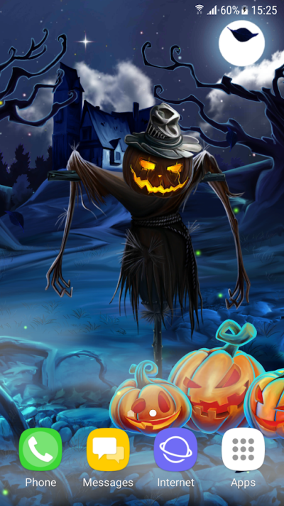 Spooky Halloween Live Wallpaper android apps download