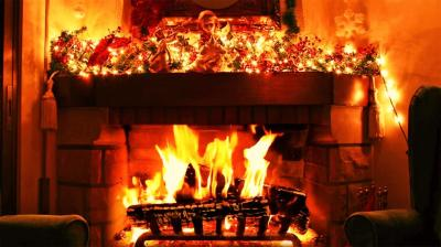 Christmas Fireplace Live Wallpaper - Android Apps on ...