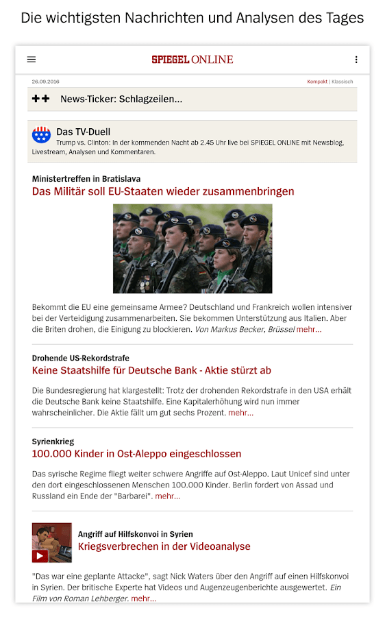 Spiegel Online News Android Apps On Google Play