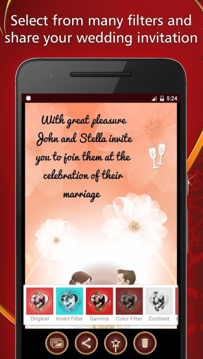 Wedding Invitations Card Maker - Android Apps on Google Play
