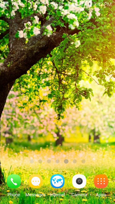 spring live wallpapers - Android Apps on Google Play