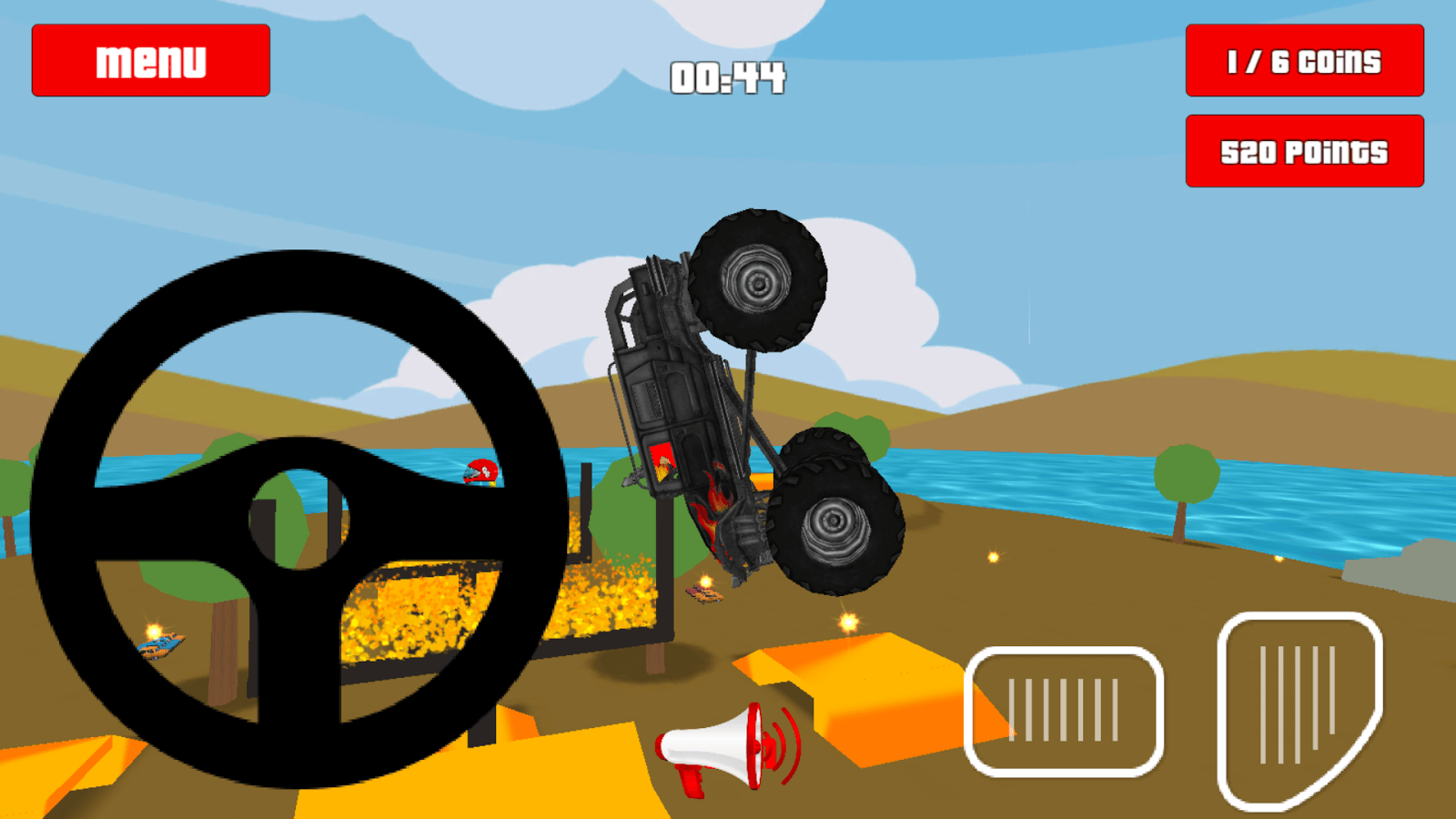 Baby Truck Baby Monster Truck Game Cars By Kaufcom Android Apps