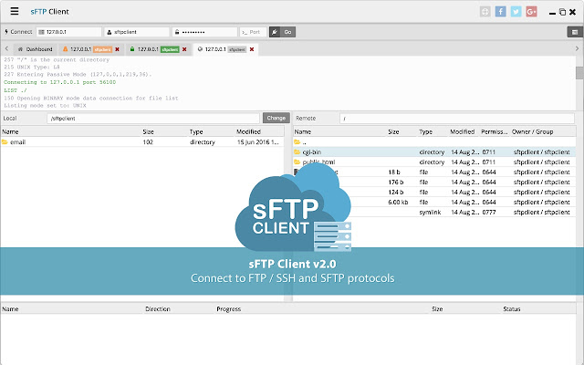 Server Sftp Sftp Client - Chrome Web Store