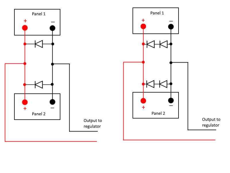 parallel solar panel wiring
