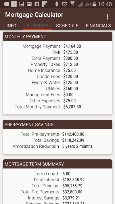 Mortgage Calculator - Android Apps on Google Play