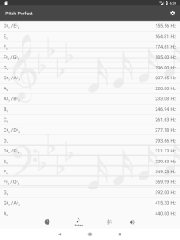 Pitch Perfect (Digital Pitch Pipe) - Android Apps on ...