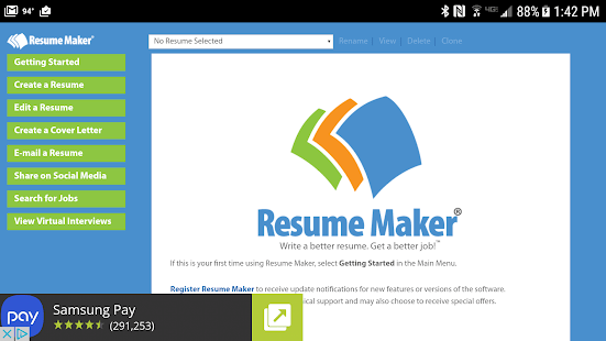 how to install resume maker professional