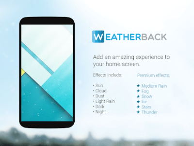 Weather Live Wallpaper: Home Screen Forecast 💧 - Android Apps on Google Play