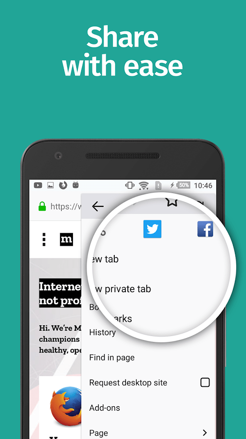 App Browser Firefox Browser Fast & Private - Android Apps On Google Play
