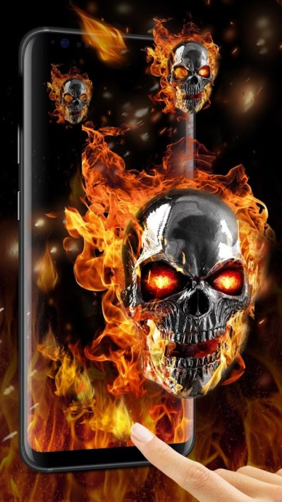 Flaming Skull Live Wallpaper for Free - Android Apps on Google Play