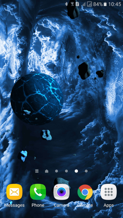 Asteroids 3D live wallpaper - Android Apps on Google Play