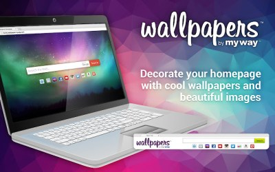 Wallpapers by MyWay - Chrome Web Store