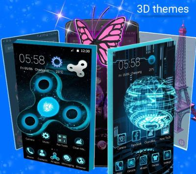 CM Launcher 3D - HD Theme & Live Wallpaper - Android Apps on Google Play
