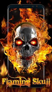 3D Flaming Skull Live Wallpaper for Free | App Report on ...
