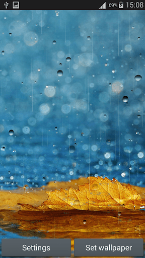 Download Rain Live Wallpapers for PC