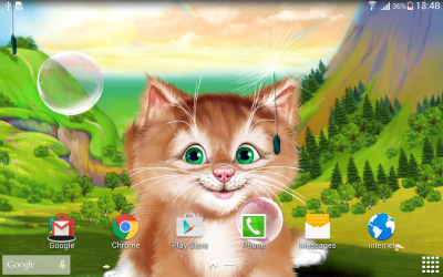 Kitten Live Wallpaper - Android Apps on Google Play