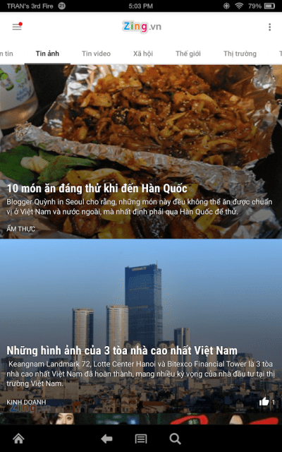 Zing.vn - Vietnam Daily News - Android Apps on Google Play