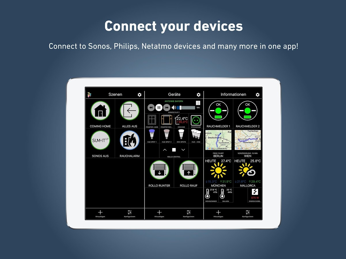 Smarthome App Ihaus Smart Home App Android Apps On Google Play