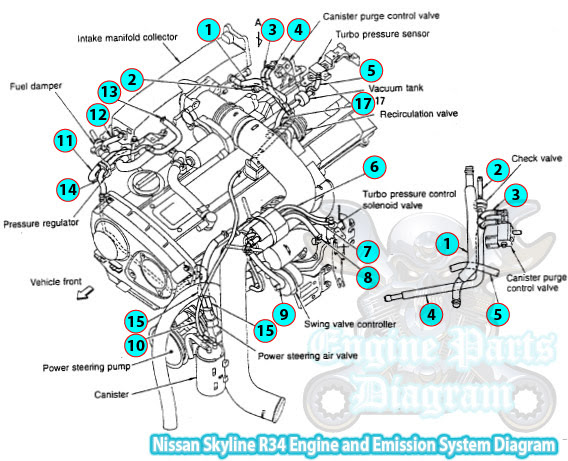 1999 toyota supra engine diagram