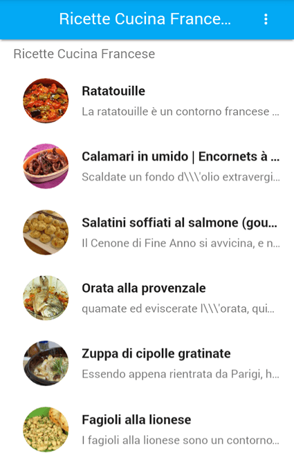 Ortolano Cucina Francese Ricette Cucina Francese - Android Apps On Google Play