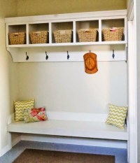 Ana White | Large Custom Mudroom Organizer with Cubbies ...