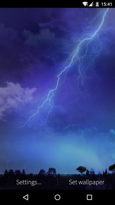 Lightning Storm Live Wallpaper - Android Apps on Google Play