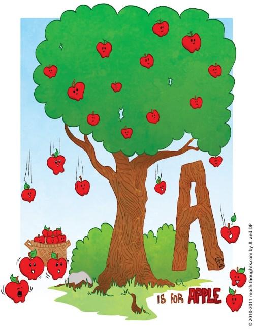 Its raining Apples!