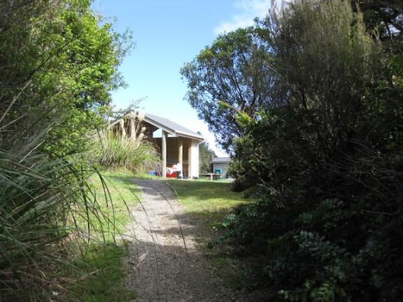 Mangahuia DOC campsite Tongariro