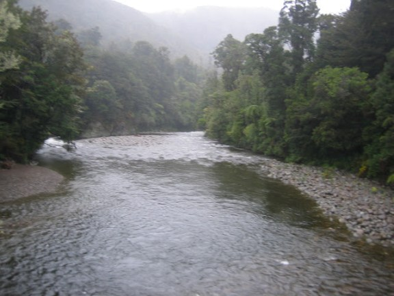 The Great River Anduin (Hutt River) near Wellington, New Zealand