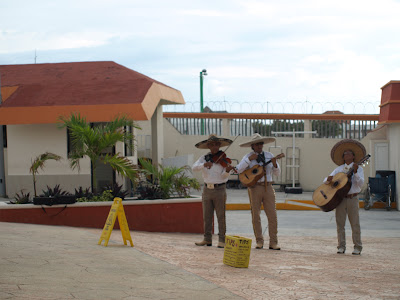 What would a Mexican port of call be without a Mariachi band?