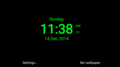 Digital Clock Live Wallpaper - Android Apps on Google Play