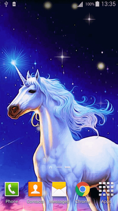 Cartoon Unicorn Live Wallpaper - Android Apps on Google Play