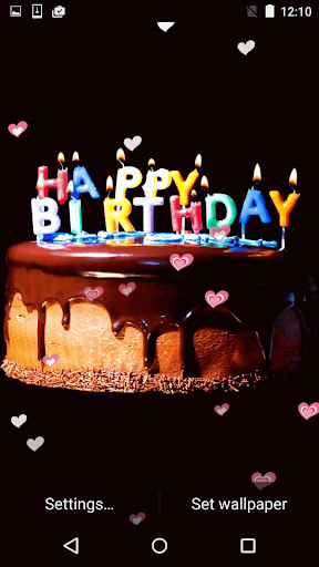 Happy Birthday Live Wallpaper for Android