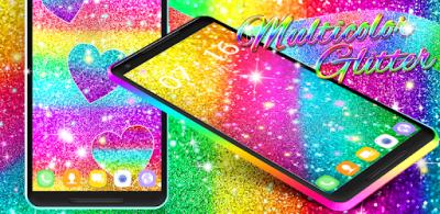 Multi color glitter live wallpaper - Apps on Google Play