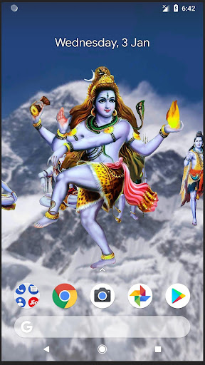 Download 4D Shiva Live Wallpaper for PC