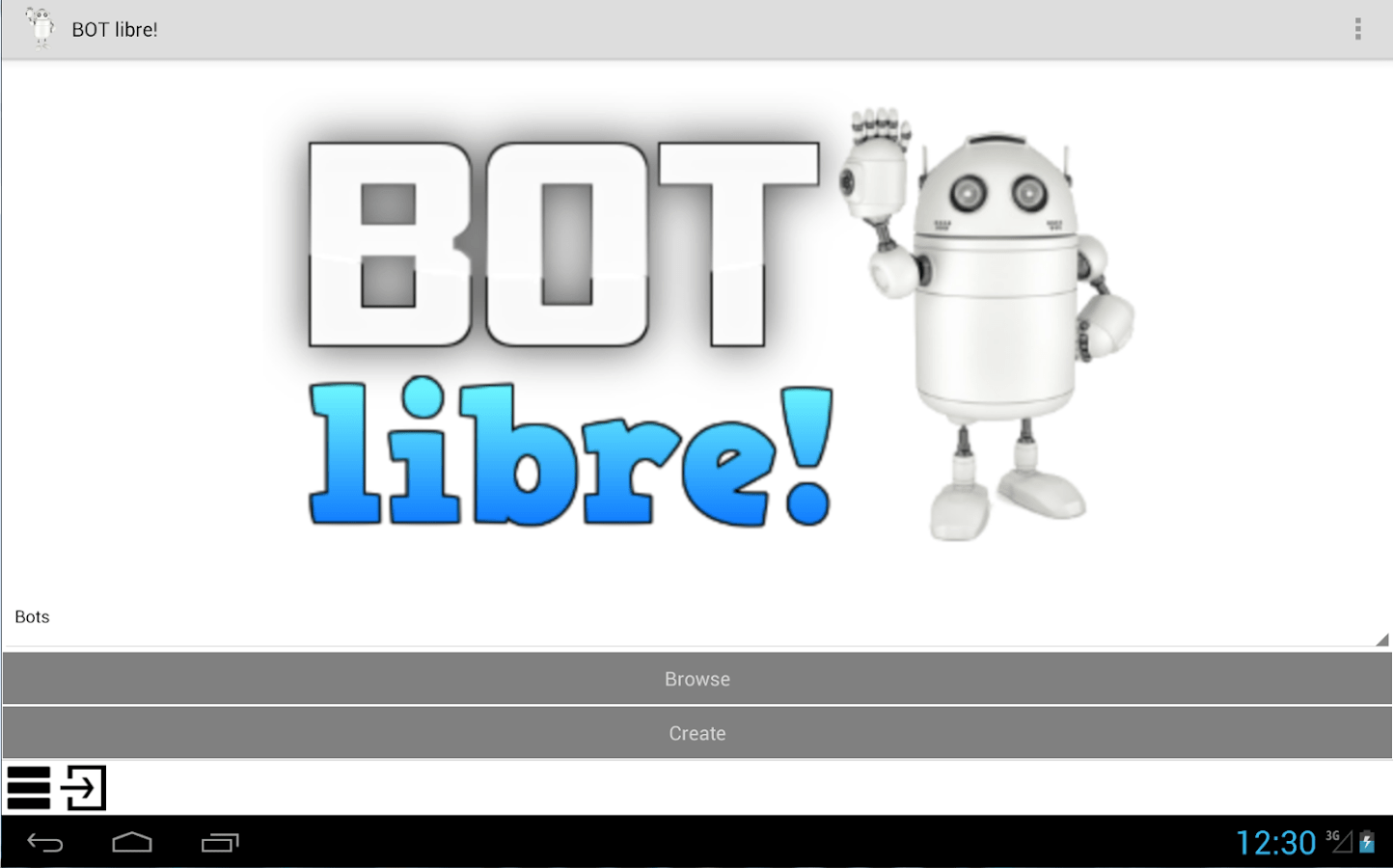 Android Software Libre Bot Libre Android Apps On Google Play