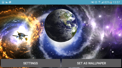 Planet Earth 3D Live Wallpaper - Android Apps on Google Play