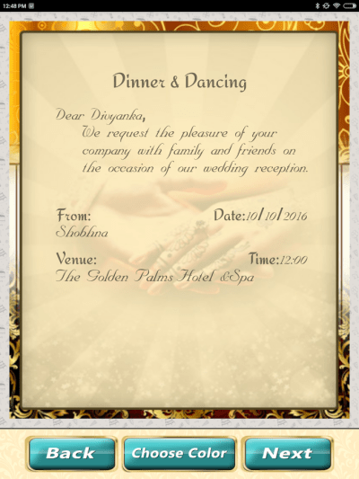Wedding Invitation Cards Maker Marriage Card App - Android ...