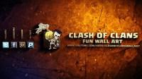 Clash of Clans Fun Wall Art - Google+