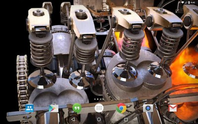Download New 3D Engine Live Wallpaper for PC